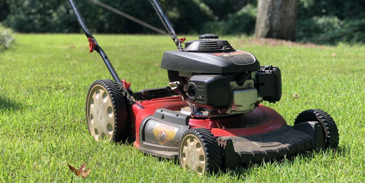 lawn mower gardening
